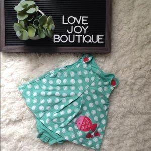Baby Girl's Polkadot Fish Dress